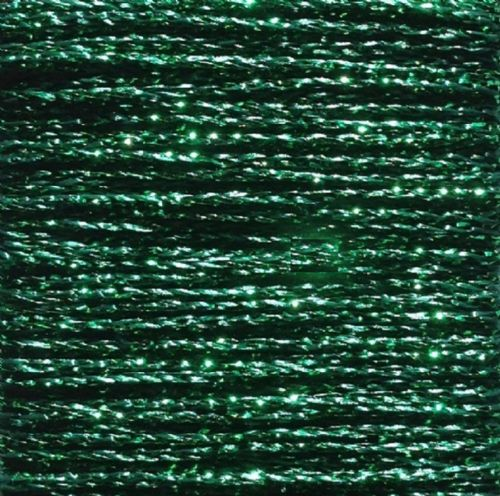 Gold Rush Metallic Glitter Thread 10m Emerald